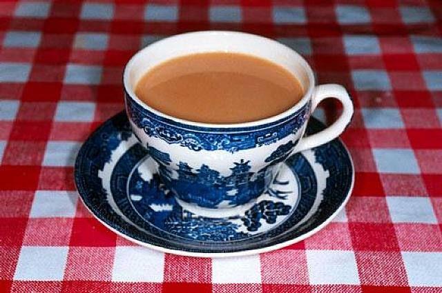 Tea cup. Martin Parr