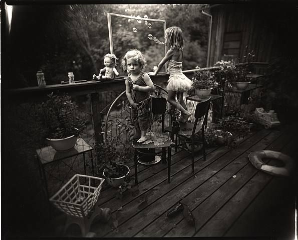 Sally Mann, Blowing Bubbles