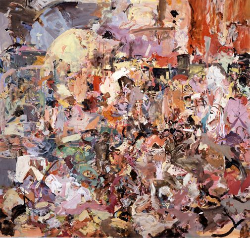 Cecily Brown, Carnival and Lent
