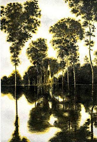 April Gornik, Light and Trees