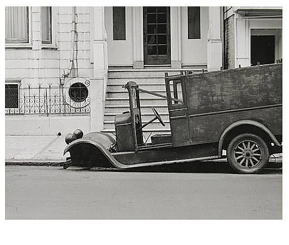 "Minor White, '1412 Webster St, San Francisco, 1948,' 1948, silver gelatin print, 6.4"" x 8.4"""