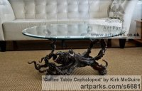 Sculpture: 'Coffee Table Cephalopod (Big life size Octopus ...