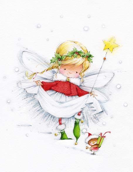 Christmas Fairy By Marina Fedotova