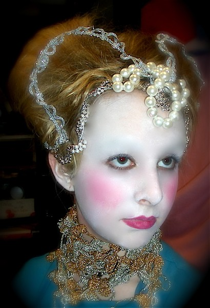 Elizabethan Stage Makeup By Vivian Haworth Artwanted Com