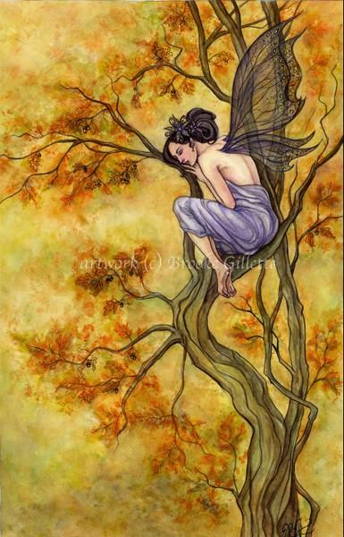 Free Fall Halloween Wallpaper Autumn Fairy By Brooke Gillette Artwanted Com