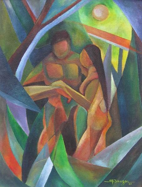 michael bauzon | Genesis 2:23-25 | ArtWanted.com