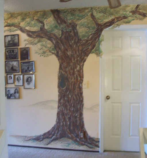 Oak Tree Mural by Vanessa Barrett  ArtWantedcom