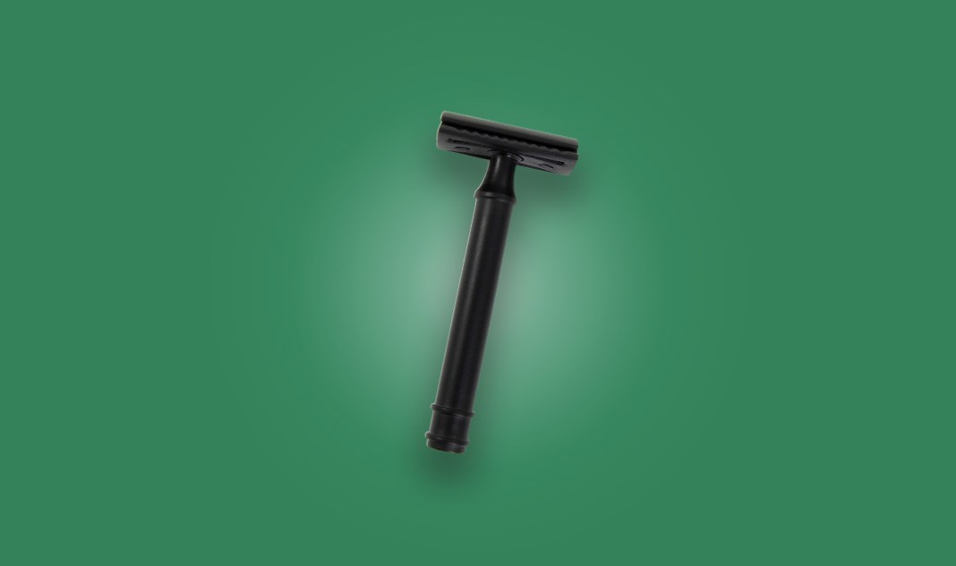 Detroit Grooming Co. Detroiter Blacked Out Safety Razor