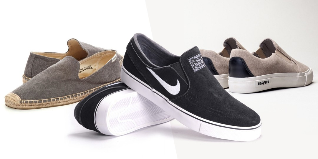 Mens Backless Slip On Shoes