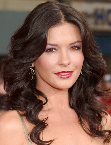 Catherine Zeta Jones long hairhairstyle