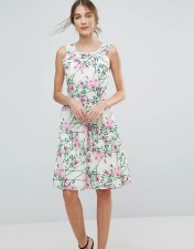 UTTAM BOUTIQUE Uttam Boutique Floral Midi Dress - Multi 2018