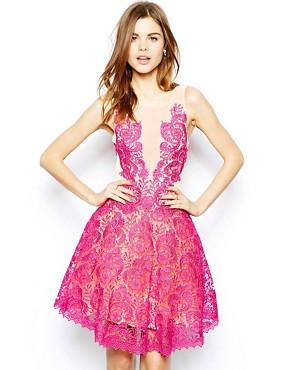 Image 1 ofForever Unique Lace Prom Dress