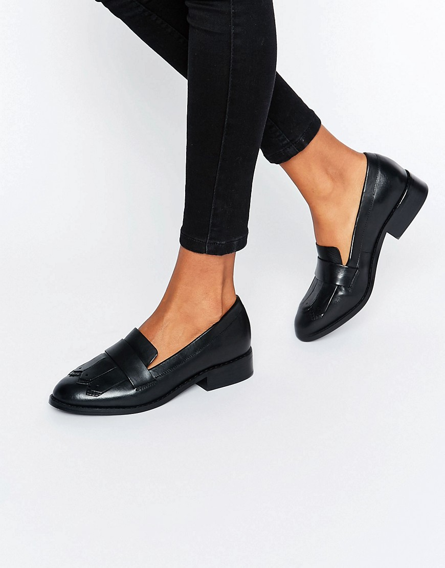 ALDO Mairi Fringe Leather Loafers