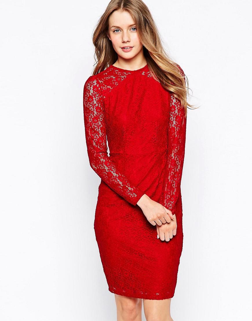 Image 1 ofSugarhill Boutique Jessica Dress In Lace
