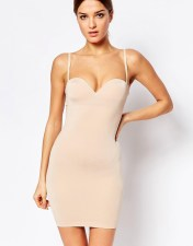 Wolford Wolford Strong Control Opaque Slip Dress - Beige 2018
