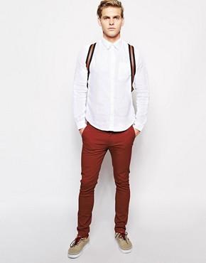 Image 4 - River Island - Pantalon chino stretch coupe skinny