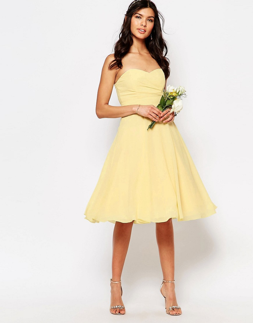 Image 4 of TFNC WEDDING Prom Midi Dress