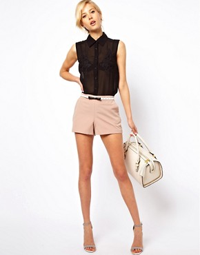 Image 1 of ASOS Tailored Shorts