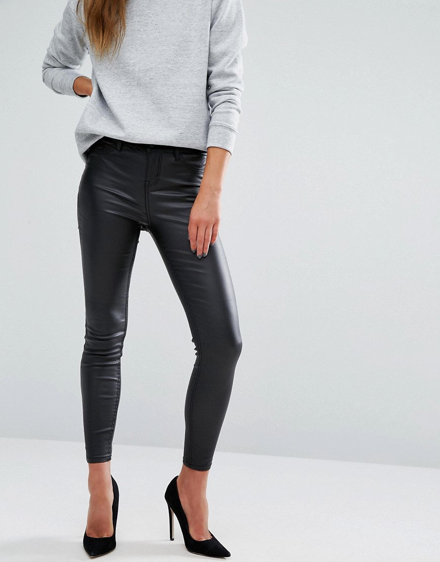 New Look Coated Skinny Jean