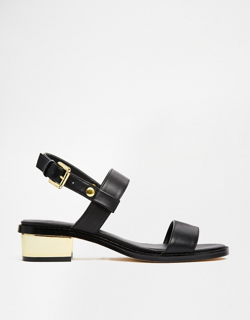 Image 2 ofASOS FANCIFY Two Strap Sandals