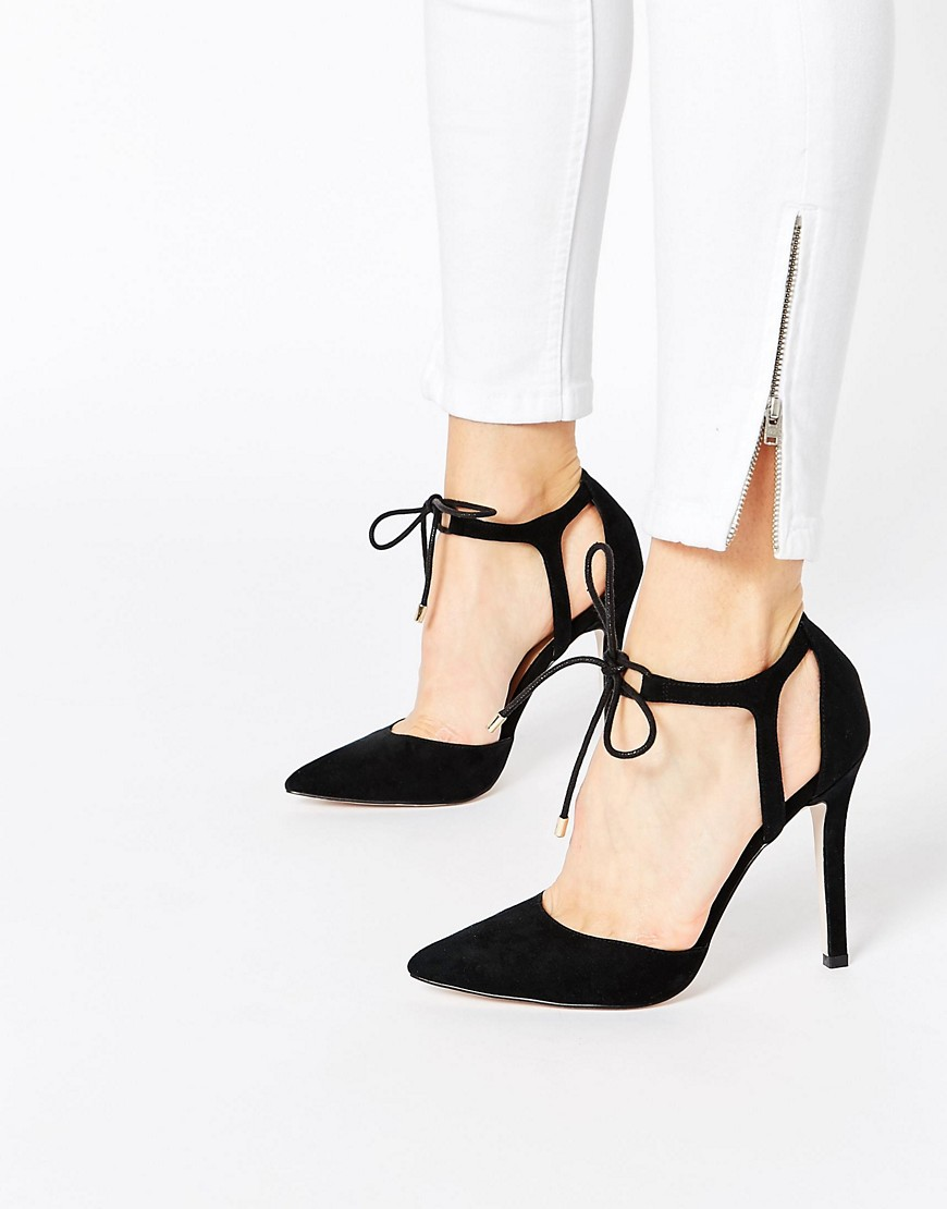 Image 1 ofASOS PLAY THE GAME Lace Up High Shoes