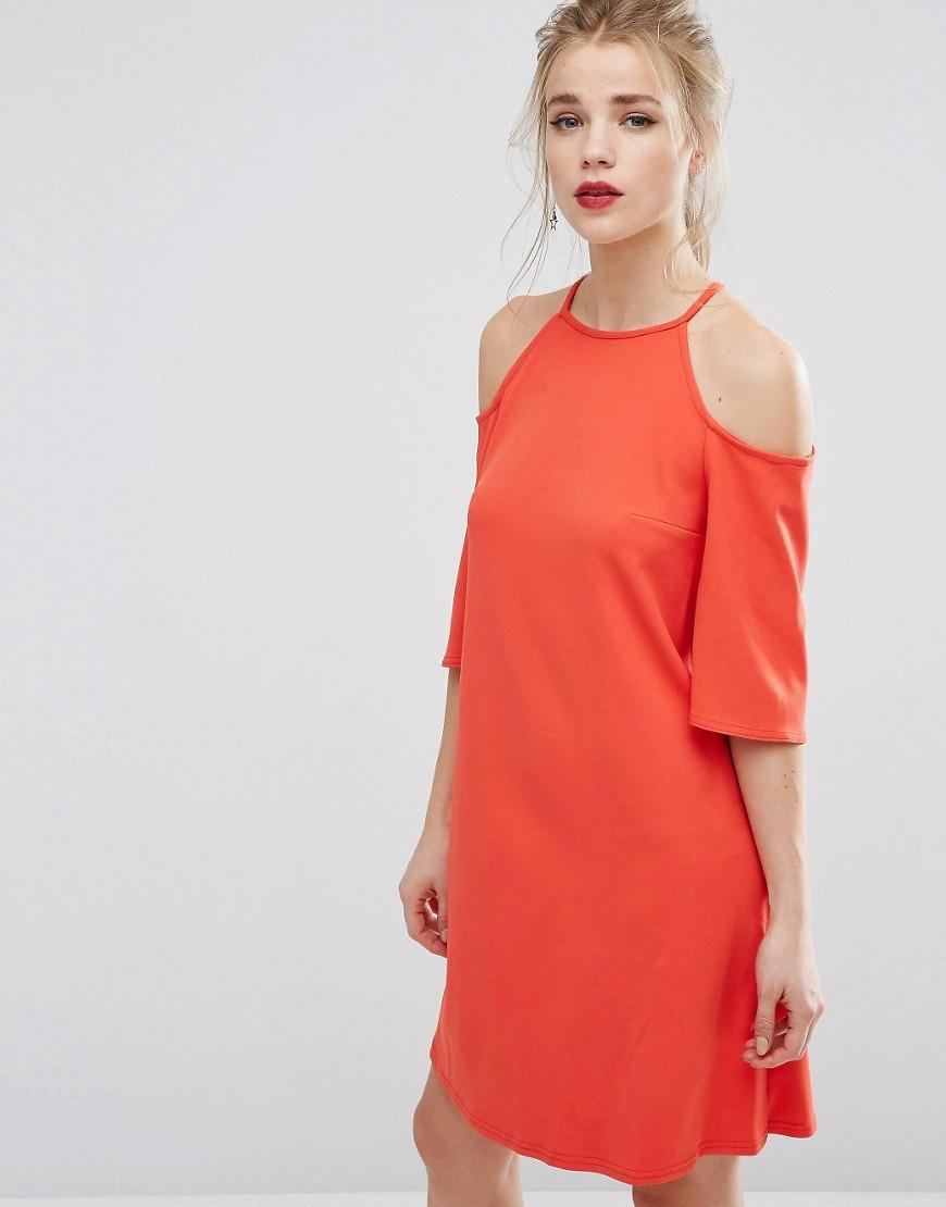Bild 1 von New Look – Schulterfreies weites Kleid