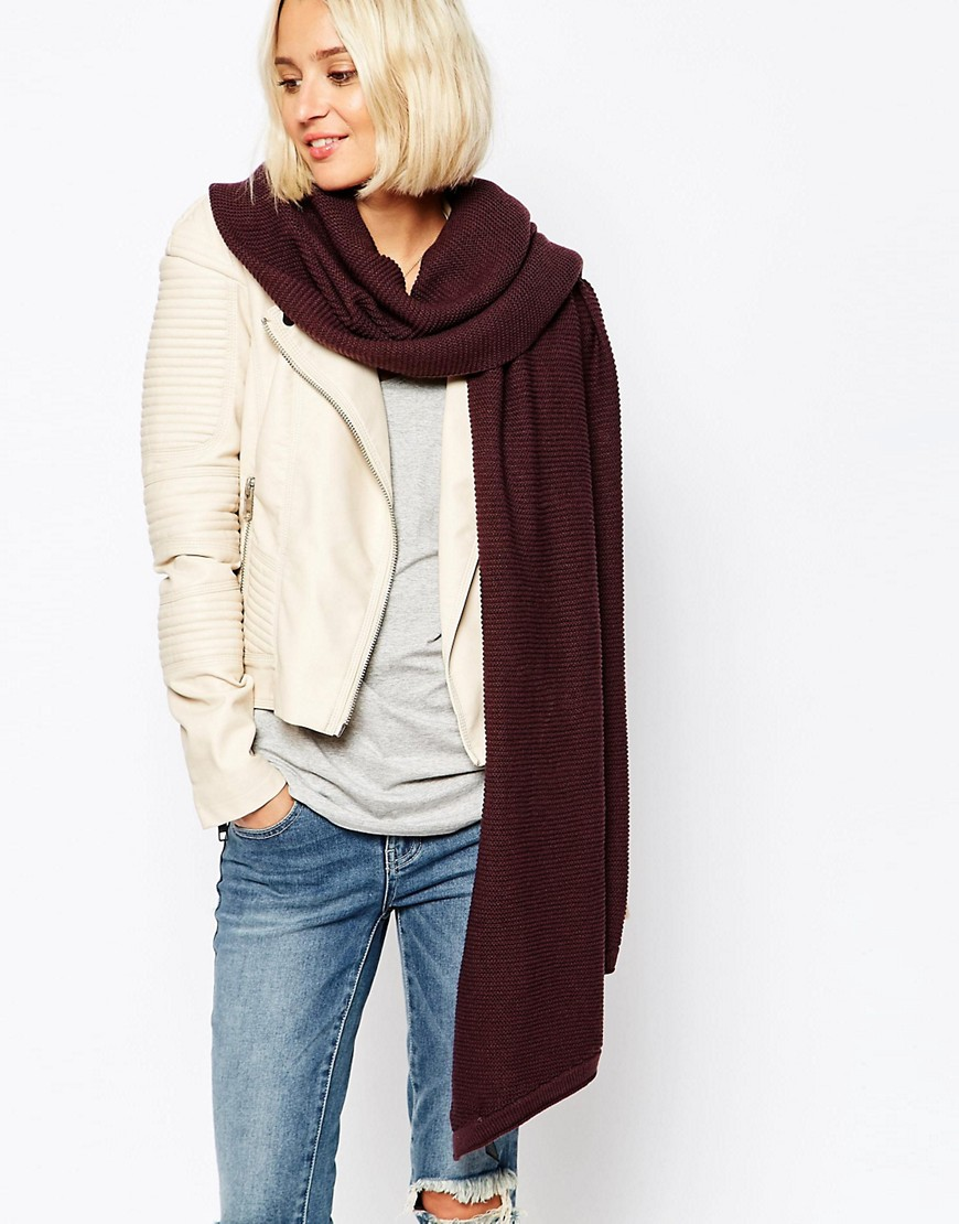 Image 1 ofPieces Ribbed Oversized Blanket Scarf