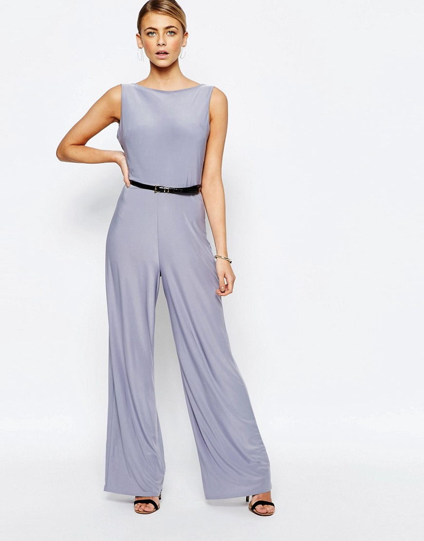 Image 2 of Love Cowl Back Wide Leg Jumpsuit