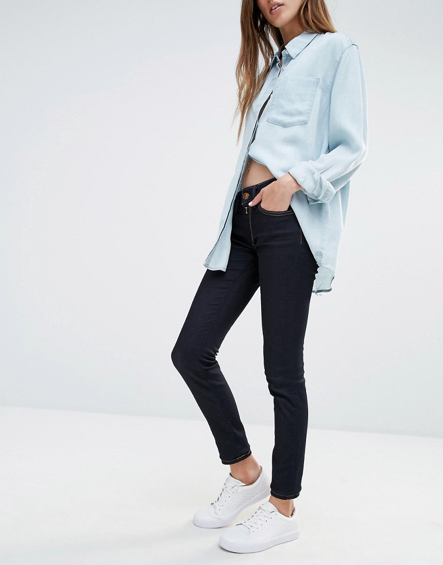 Image 1 of Replay Super Skinny Mid Rise Jeans