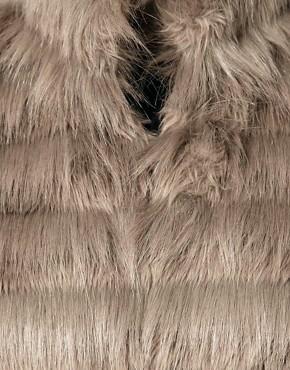 Imagen 3 de Abrigo de piel sintética Natalia de Whistles