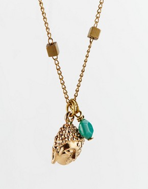 Image 4 of Sam Ubhi Buddha Head Charm Necklace