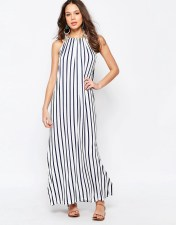 Seafolly Seafolly Vertical Stripe Jersey Maxi Dress - Navy 2018