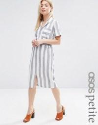 ASOS Petite | ASOS PETITE Short Sleeve Shirt Dress in ...