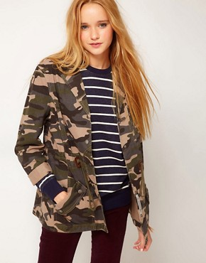 Image 1 of Bellfield Camo Jacket