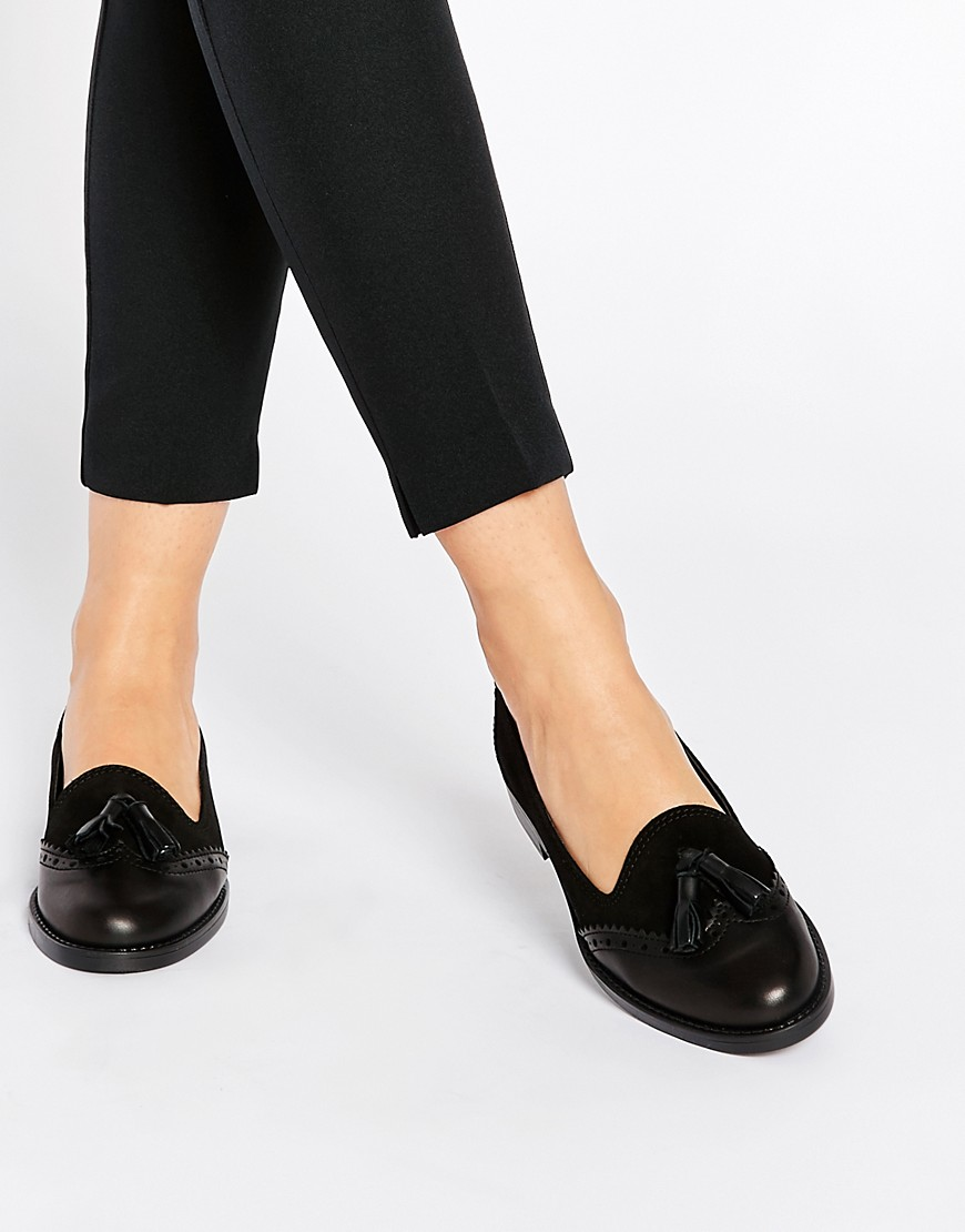 Image 1 of River Island Tassel Brogue Loafer