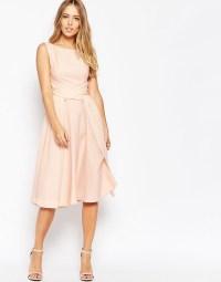 ASOS WEDDING Soft Midi Prom Dress