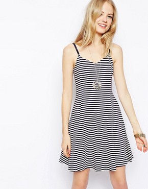 Image 1 of ASOS Sundress in Stripe