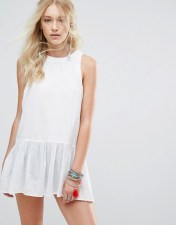 Free People Free People Breathless Moments Tunic Dress - White 2018