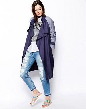 Image 1 of ASOS Mac in Denim Drape
