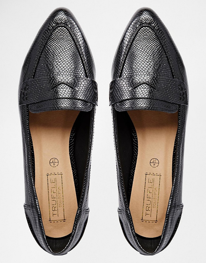 Image 3 of Truffle Collection Stella Point Flat Shoes