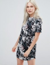 Neon Rose Neon Rose Floral Scuba Dress - Multi 2018