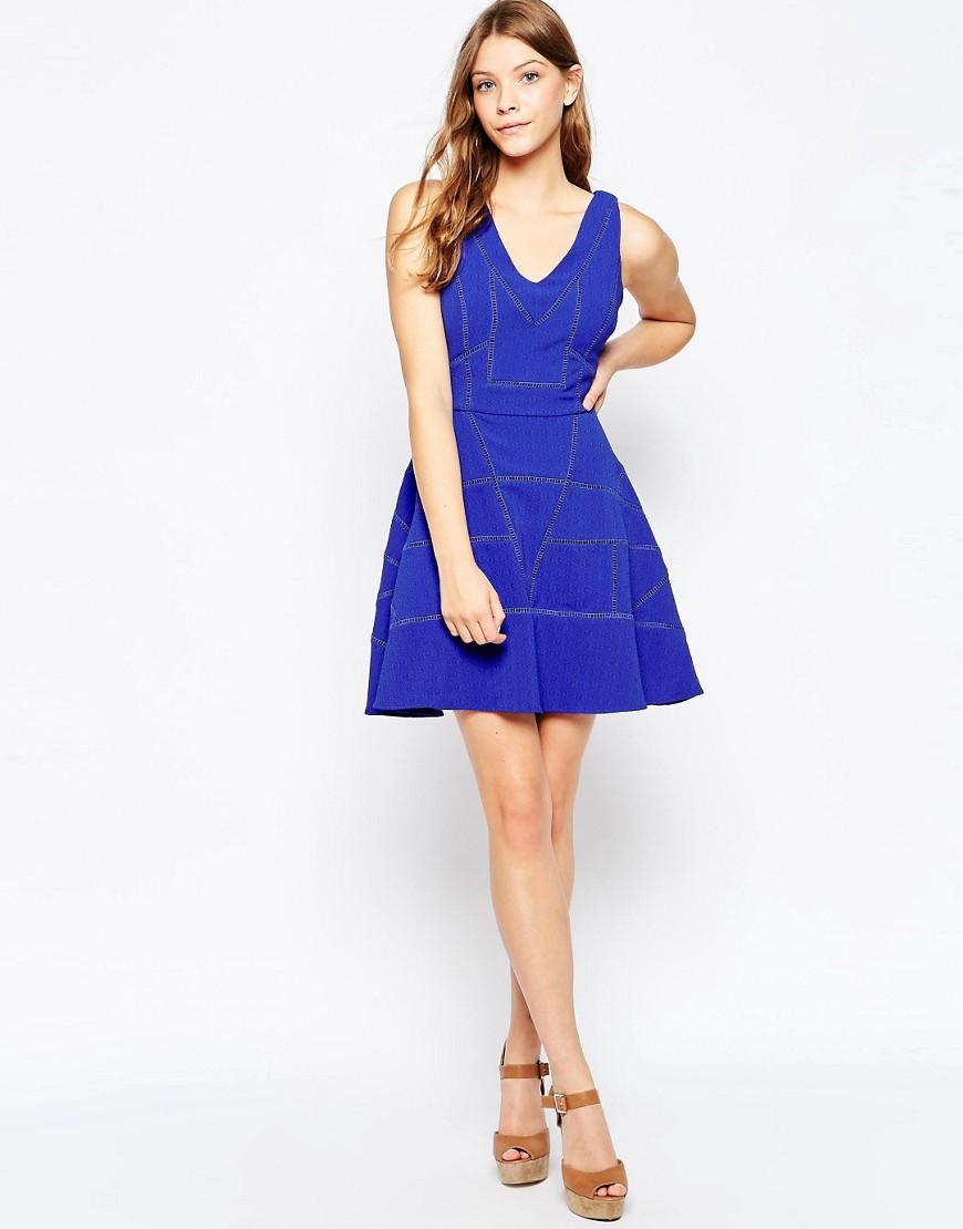 Fit n Flare Dress by Greylin  Azul