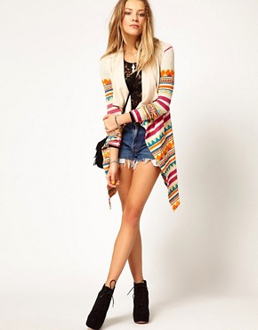 Image 1 of Minkpink South West Printed Festival Cardigan