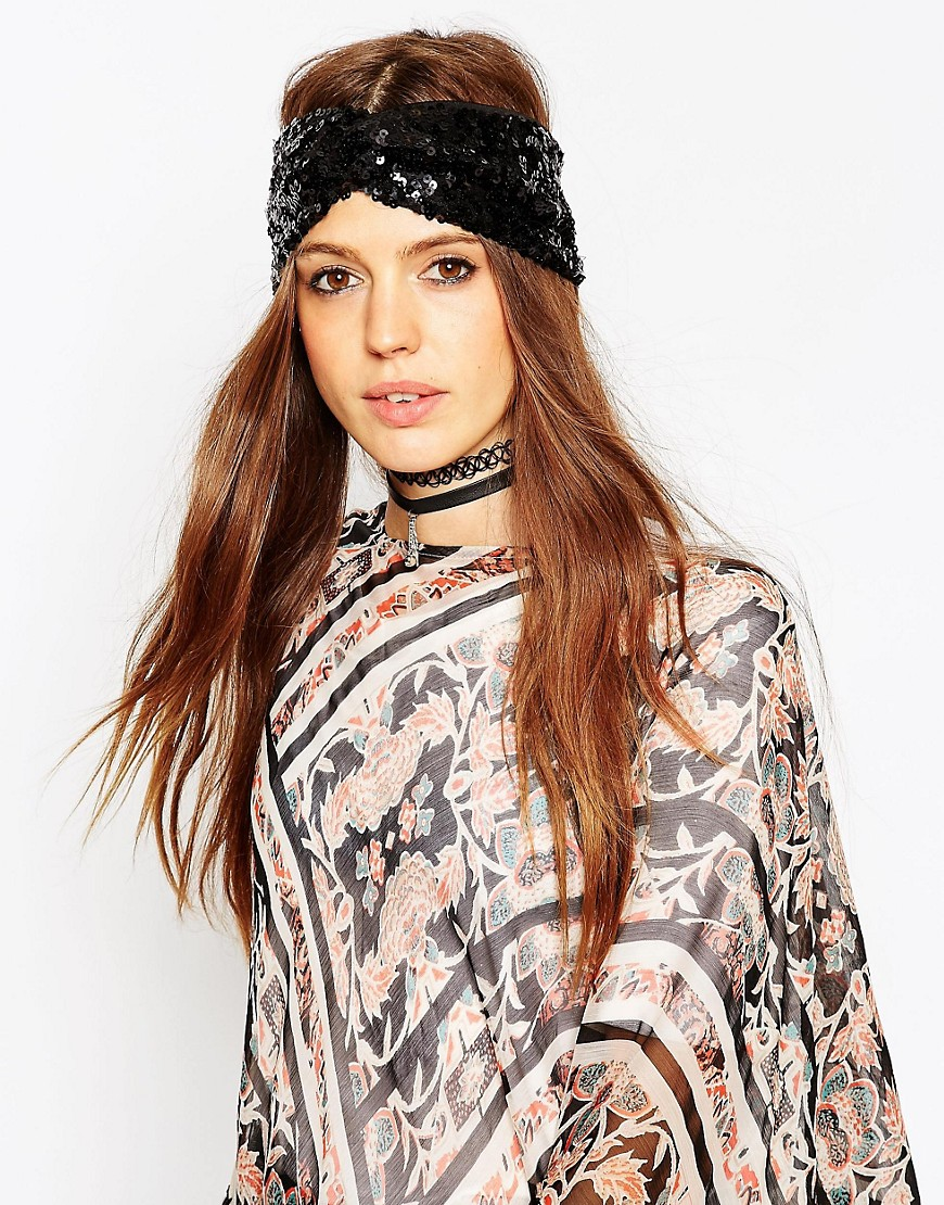 Image 1 of ASOS Sequin Turban
