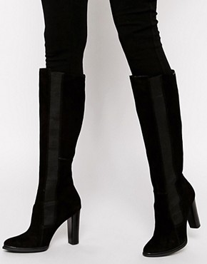 Image 1 of Calvin Klein Jalisa Heeled Knee High Boots