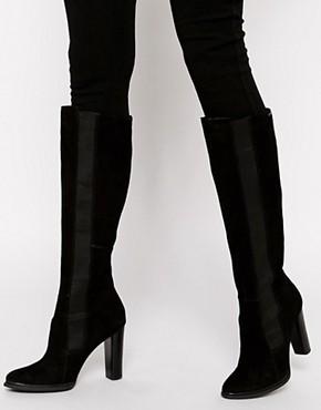 Image 1 ofCalvin Klein Jalisa Heeled Knee High Boots