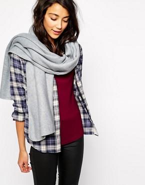 Image 1 ofEsprit Oversized Blanket Stitch Scarf