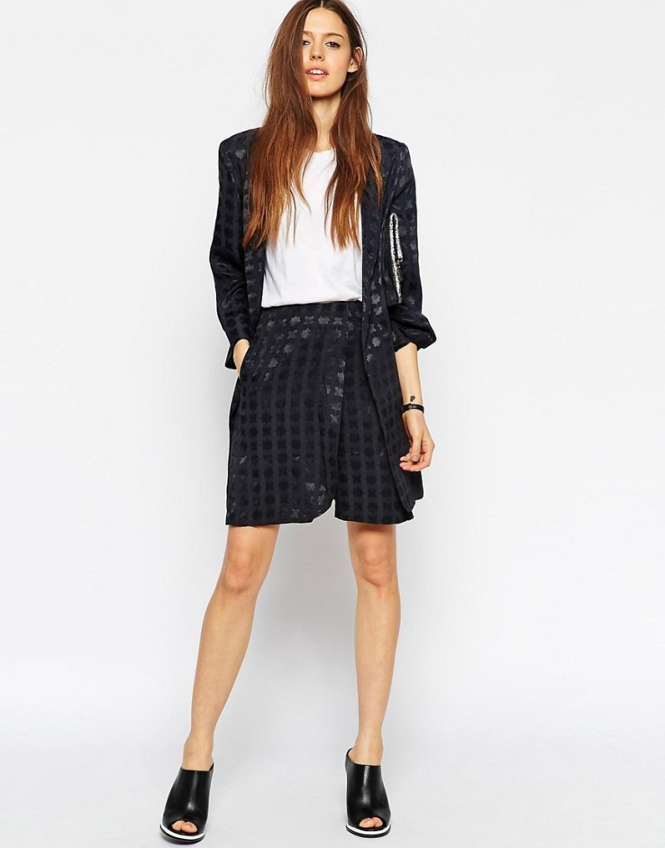 ASOS Jacquard Wrap Short Co-ord