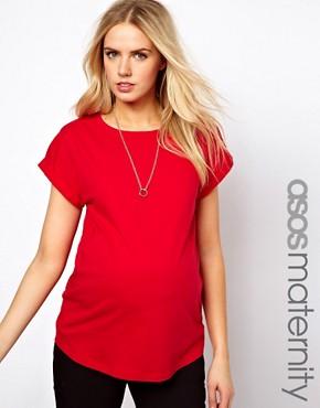 Image 1 ofASOS Maternity Boyfriend T-Shirt
