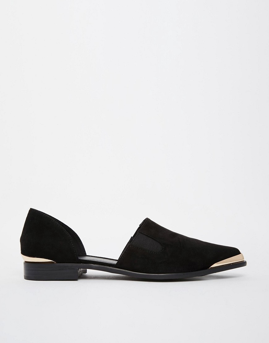 Image 2 of ASOS MADDISON Two Part Slip On Shoes